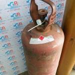 Cilindro de gás para solda