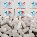 Gelo seco em caixa de isopor