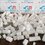 Gelo seco para transporte de alimentos