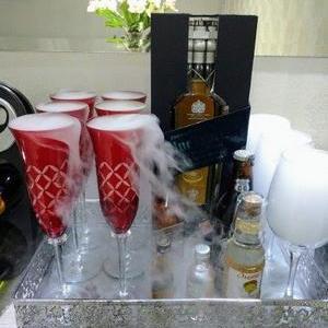 Comprar gelo seco para drinks